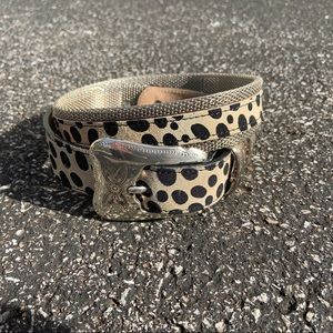 Accessories - ACCENT CHEETAH AND METAL BELT